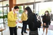 경북교육청, 전국 모집 기숙사 고등학교 코로나19 진단 검사
